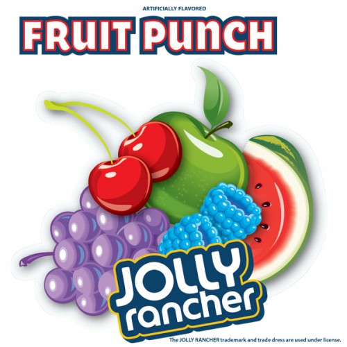Jolly Rancher FRUIT PUNCH FLAVOR CLING