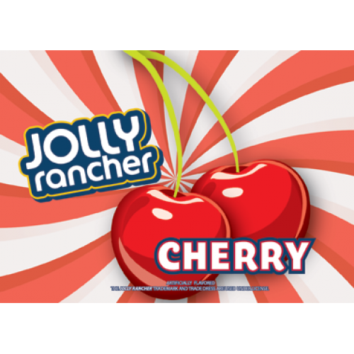 Jolly Rancher CHERRY FLAVOR CARDS